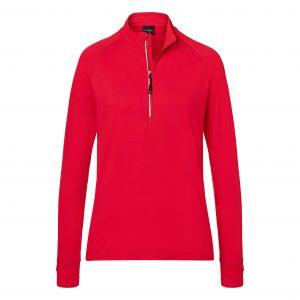 Ladies' Sports Shirt Half-Zip